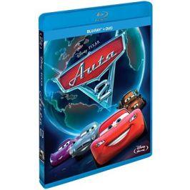 Auta 2 (Combo Pack - 2 disky) - Blu-ray+ DVD
