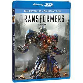 Transformers: Zánik 3D (3 disky) - Blu-ray