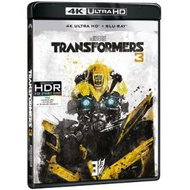 Transformers 3 (2 disky) - Blu-ray + 4K Ultra HD