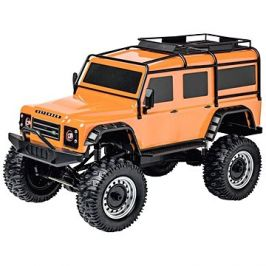 Land Rover Defender rock crawler 4wd 1:8 oranžový