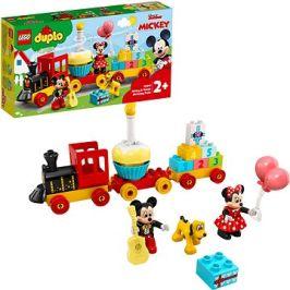 LEGO DUPLO Disney TM 10941 Narozeninový vláček Mickeyho a Minnie