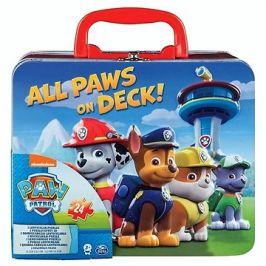 Tlapková patrola Puzzle v plechovém kufříku