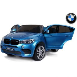 BMW X6 M lakované modré