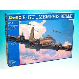 Plastic ModelKit letadlo 04297 - B-17 F Memphis Belle