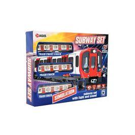 Metro/vlak/tramvaj s kolejemi