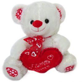 Medvídek s mašlí a srdcem - 35 cm