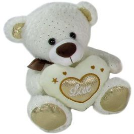 Medvídek Srdíčko Béžový - 23 cm