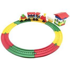 Stavebnice vlak s vagónky