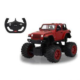 Jamara Jeep Wrangler JL 1:14 big wheel door manual červený 2,4G B