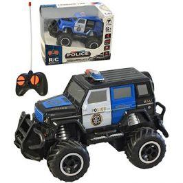 Auto policejní, na dálkové ovládání, 18x16cm
