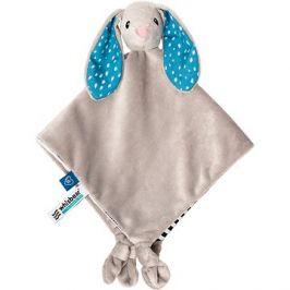 Whisbear Doudou komfortní deka králík šedivý