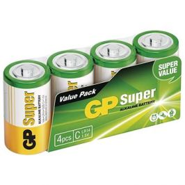 GP Alkalická baterie GP Super C (LR14), 4 ks