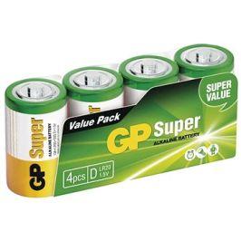 GP Alkalická baterie GP Super D (LR20), 4 ks