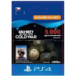 Call of Duty: Black Ops Cold War Points - 5,000 Points - PS4 CZ Digital