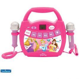 Lexibook Princezny Přenosný hudební přehrávač s 2 mikrofony