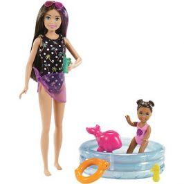 Barbie Chůva S bazénkem