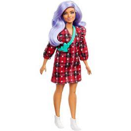 Barbie Modelka - V kostkovaných šatech