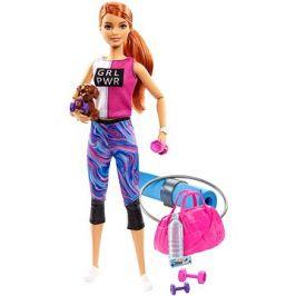 Barbie Wellness Panenka s karimatkou