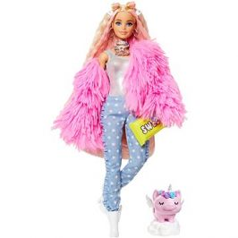 Barbie Extra - V růžové bundě