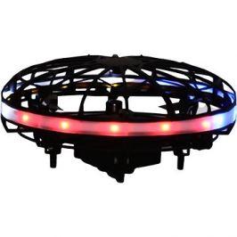 Svítící levitující ufo