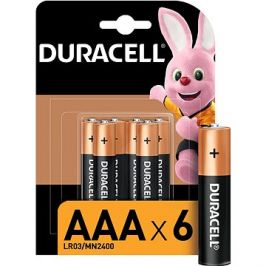 Duracell Basic AAA 6 ks