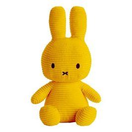 Miffy Sitting Corduroy Yellow 33cm