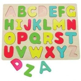 Woody Puzzle na desce - Abeceda