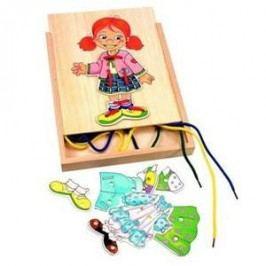 Woody Šněrovací šatní skříň - Holčička
