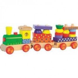 Woody Skládací vlak se světlem