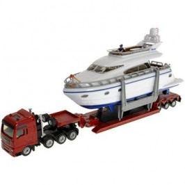 Siku Super – Přeprava těžkého nákladu s jachtou