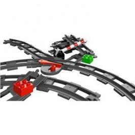 LEGO Duplo 10506 Koleje, výhybky a přejezd