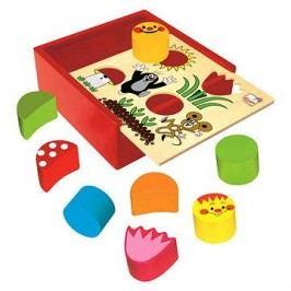 Bino Krabička s tvary - Krteček