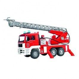 Bruder MAN TGA hasičské auto s výsuvným žebříkem, pumpou, světly a zvuky