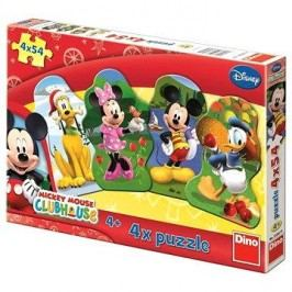Disney Mickeyho klubík 4x54 dílků