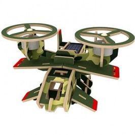 Dřevěné 3D Puzzle - Vojenské solární letadlo Avatar barevné