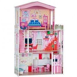 Woody Domeček pro panenky s nábytkem
