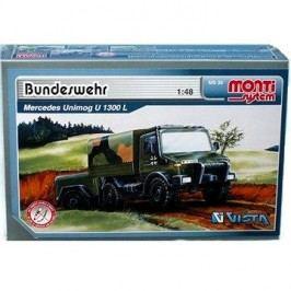 Monti system 30 - Bundeswehr Mercedes Unimog  měřítko 1:48