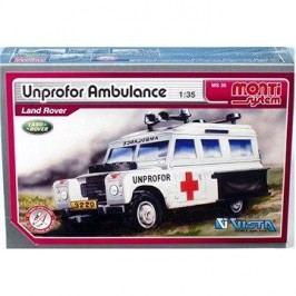 Monti system 35 - Unprofor Ambulance Land Rover měřítko 1:35