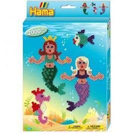 Dárková sada zažehlovacích korálků - Mořské panny