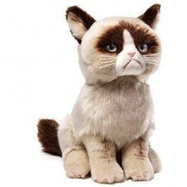 Grumpy cat plyšák