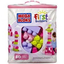 Mega Bloks Pytel kostek pro holky (60 ks)