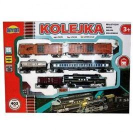 Vlak s 5 vagóny