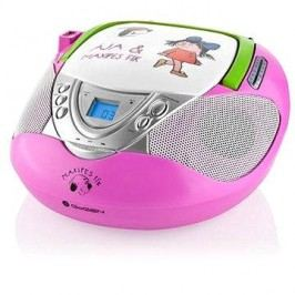 Gogen Maxi rádio P růžový