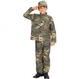 Šaty na karneval - Voják vel. S