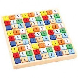 Barevné dřevěné sudoku