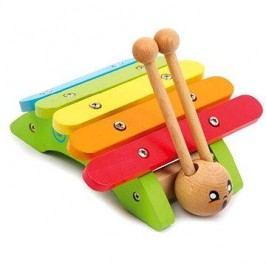 Dětské hudební nástroje - Xylofon šnek