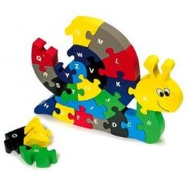Vkládací puzzle - Šnek