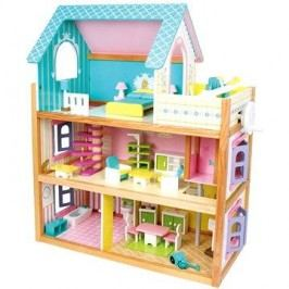 Dřevěný domeček pro panenky - Residence