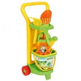 Wader - Vozík zahradníka s doplňky
