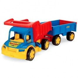 Wader - Truck s dětskou vlečkou